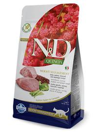 FARMINA N&D Cat Quinoa WEIGHT MANAGEMENT Lamb & Broccoli 1.5 kg